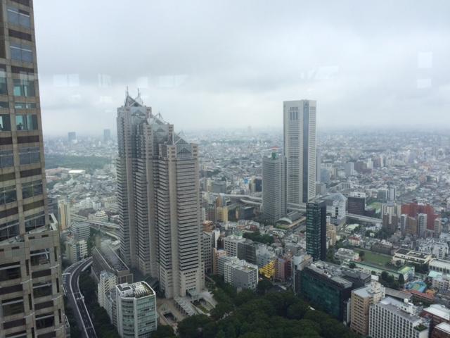 Toller Ausblick trotz Regenwetter.