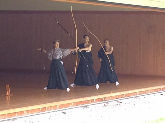 Kyudo-Dojo in Tokio.