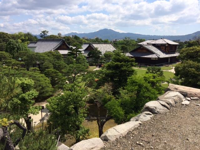 Nijo-jo - die Burganlage des Shogun in Kyoto.