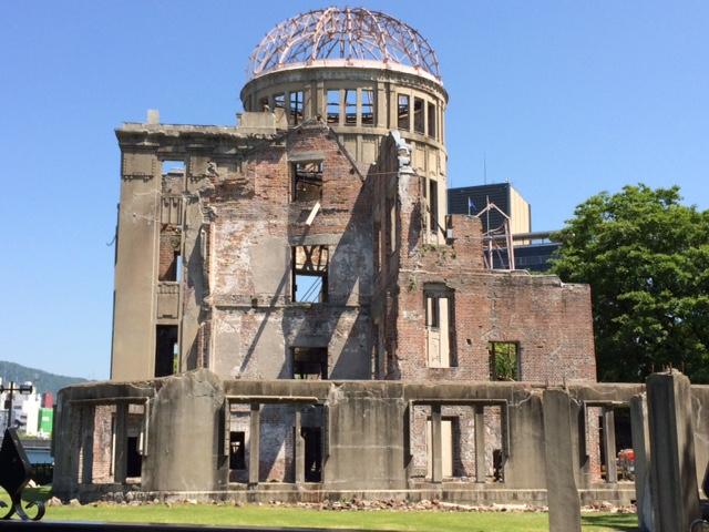Genbaku-domu , der Atombombendom von Hiroshima