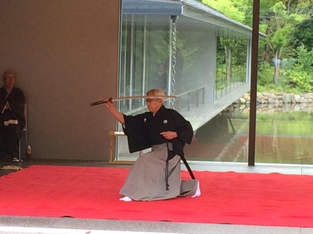 Iaido: Schon das Ziehen des Schwerts sollte eine Kampftechnik sein.