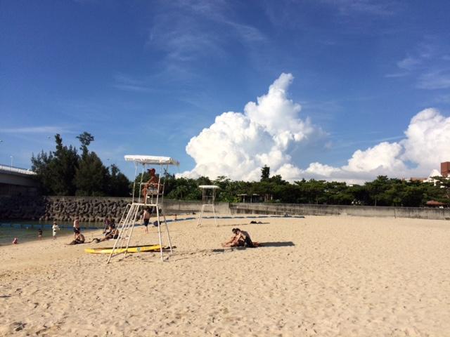 Naha Beach, Okinawa.