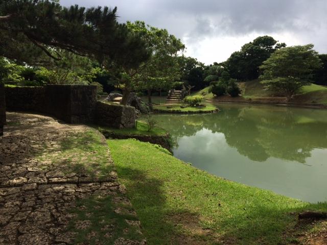 Im Shikina-en-Garten von Naha.