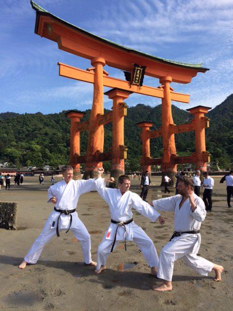 Otorii-Schrein auf der Insel Miyajima.