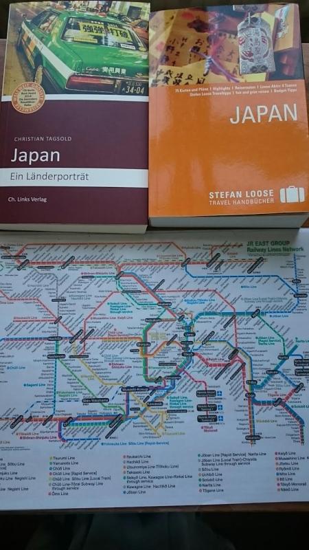 U-Bahnplan von Tokio